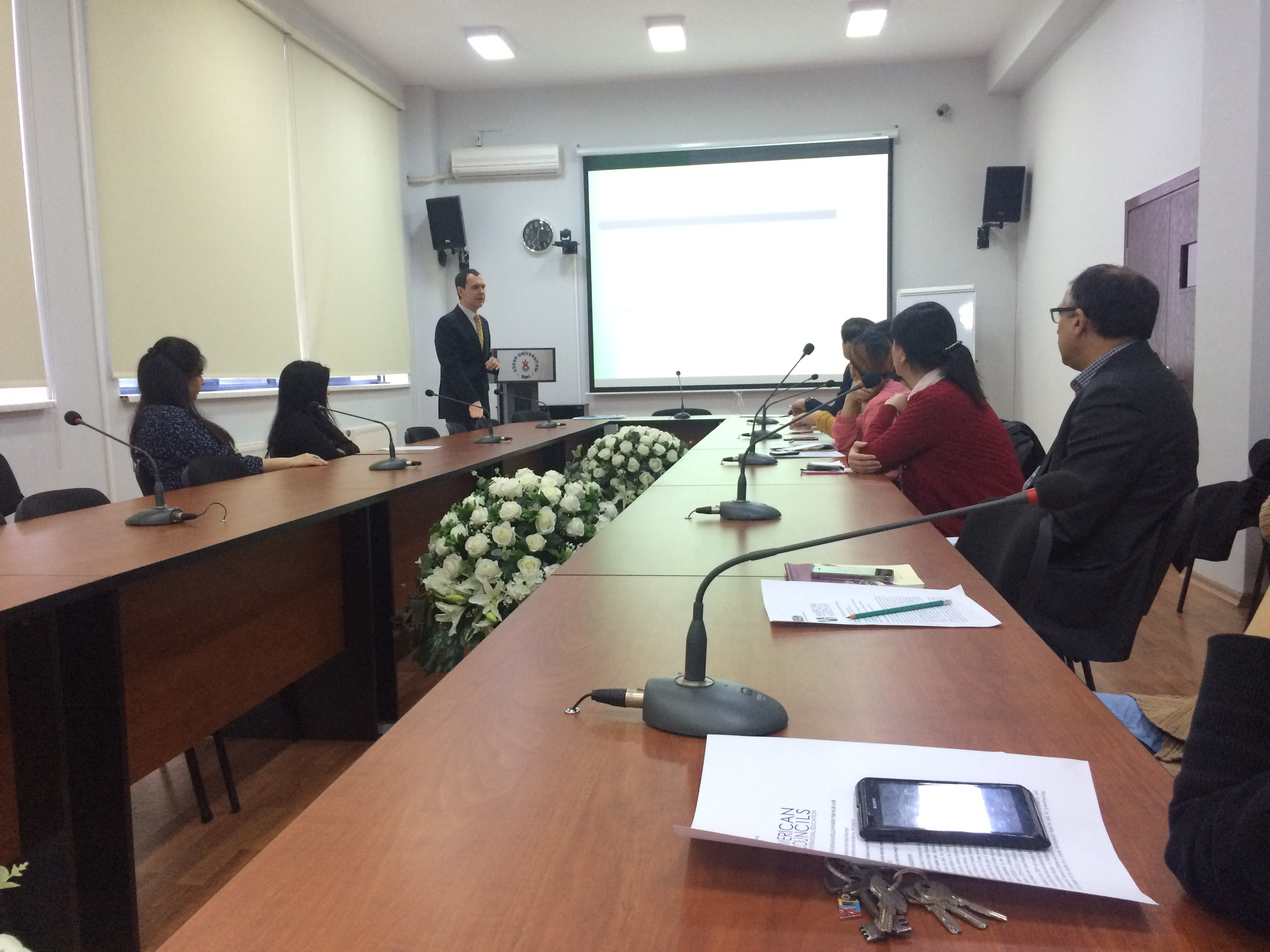 Presentation on Carnegie Research Fellowship Program