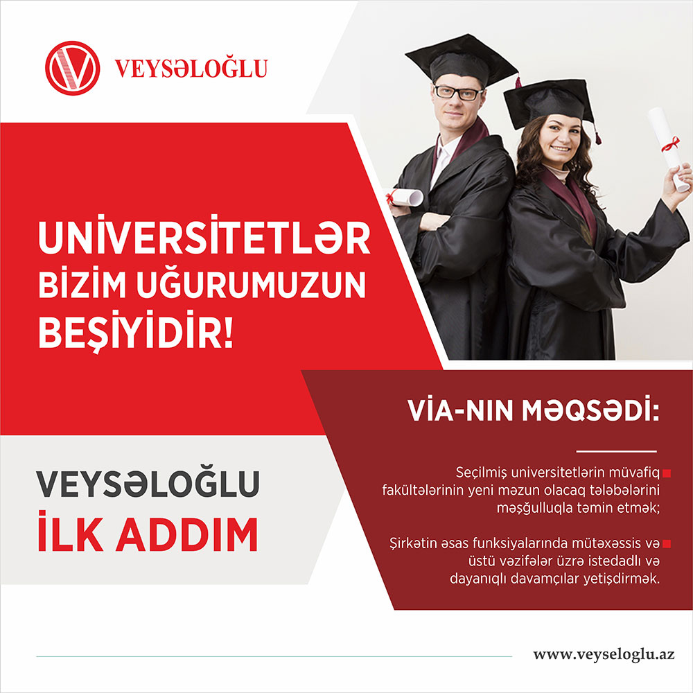 """Informative seminar for students of Faculty of Economics and Management to be held within """"Veyseloglu First Step"""" project"""