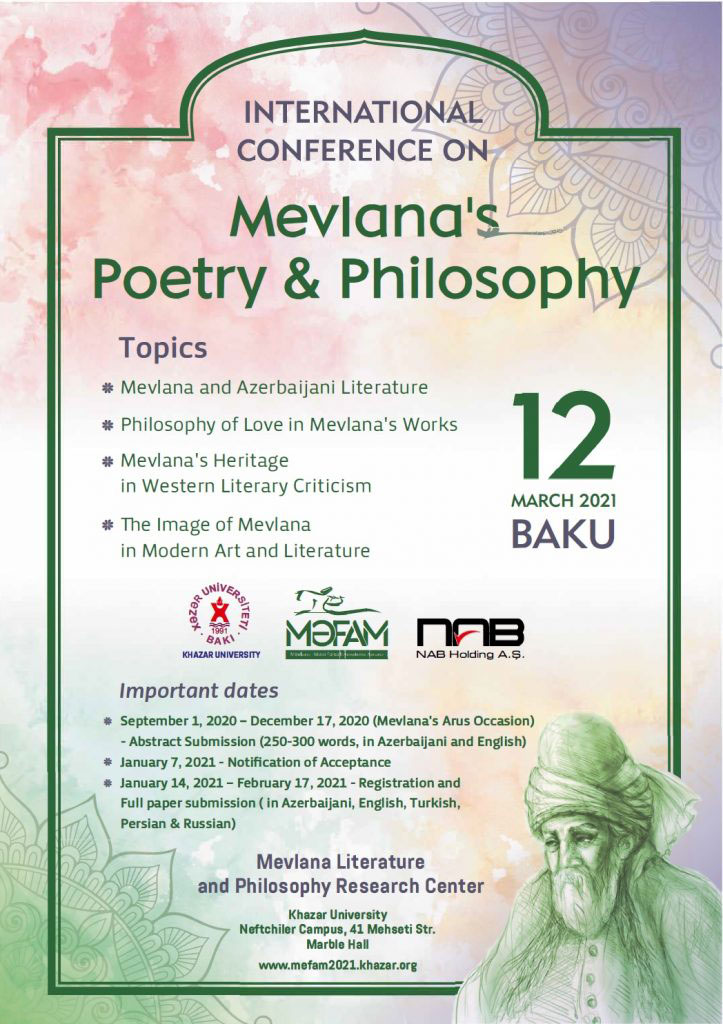 International ConferenceonMevlana's Philosophy and Poetry