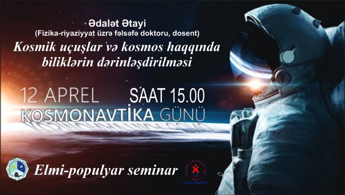 """Popular scientific seminar on """"Deepening knowledge about space flight and space"""""""