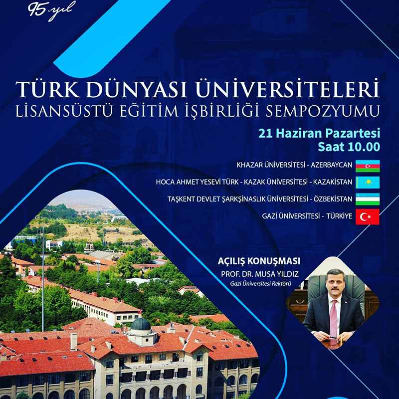"""Turkish World Universities Graduate Education Symposium"" to be held"