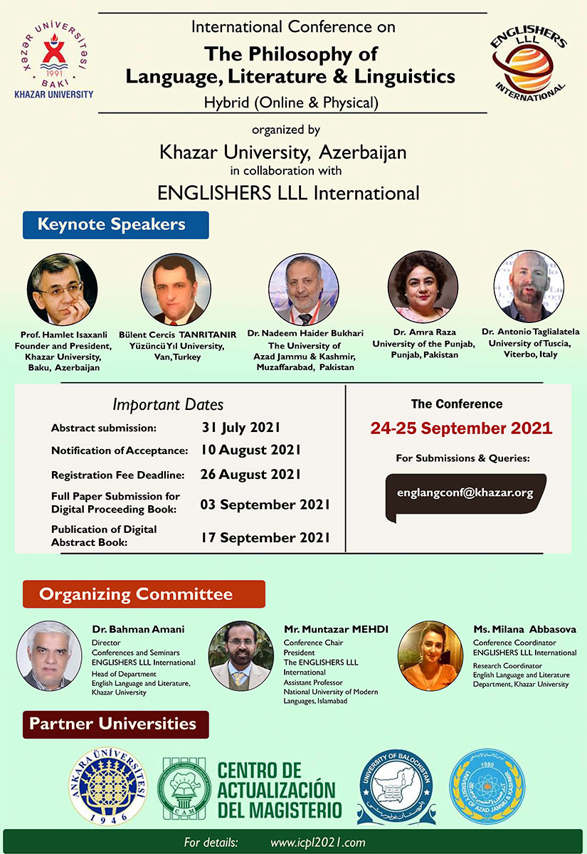 English Language and Literature Department holds an international conference
