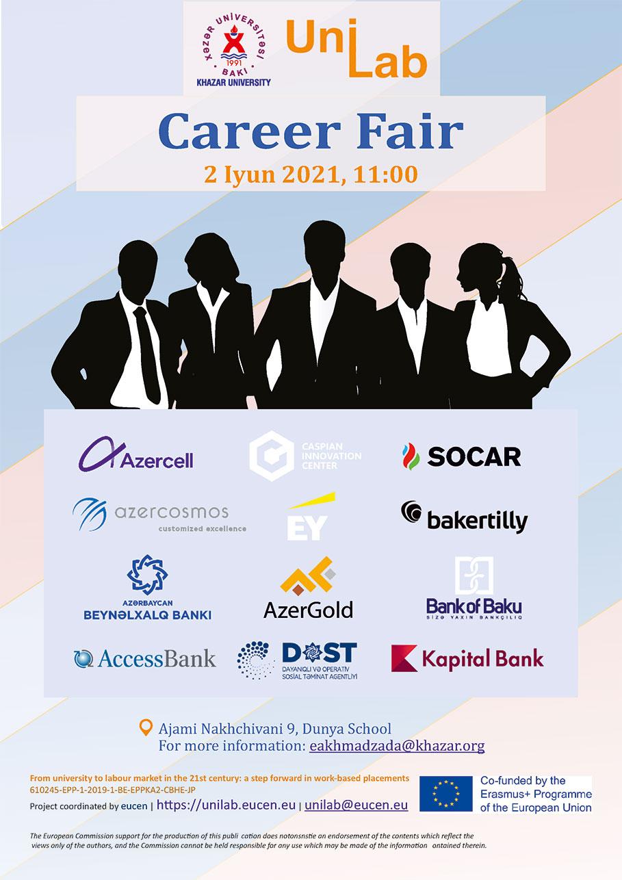 Khazar University, annual Career Fair 2021