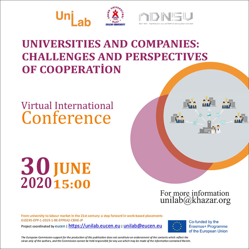Virtual Conference on Universities and Companies: Challenges and Perspectives of Cooperation