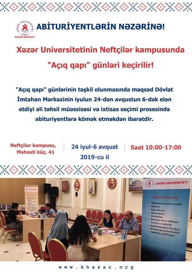 Open Door Days at Khazar University