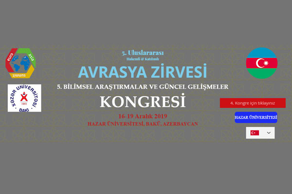 Khazar University to Host 5th Congress on Scientific Research and Current Development