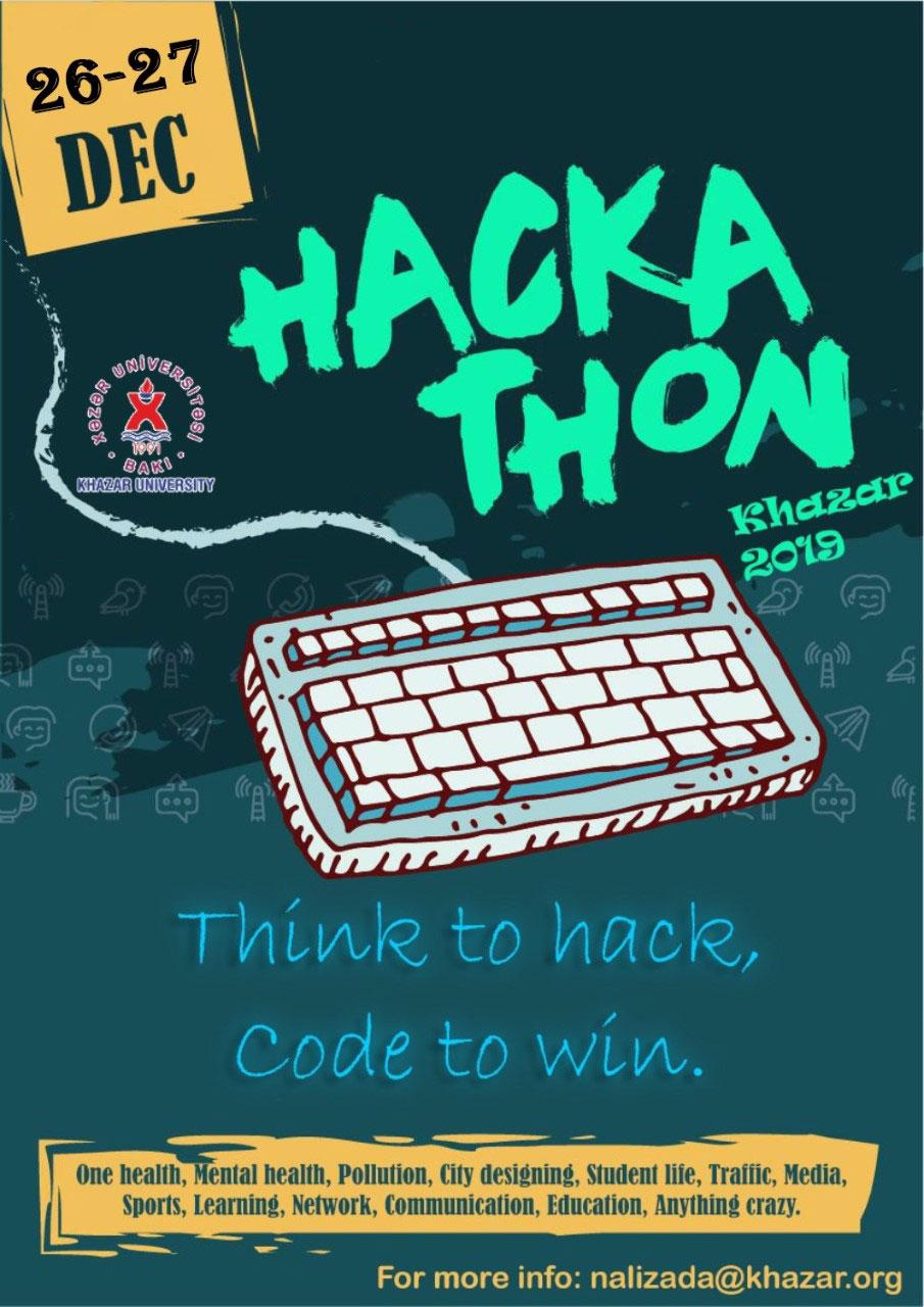 """""""Hackathon–2019 Khazar University"""" to Be Held"""