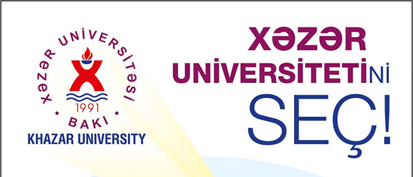 To the attention of applicants! Choose Khazar University!