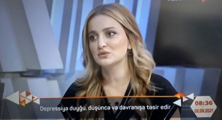"Khazar University Faculty Member on ""Madaniyyat TV"""