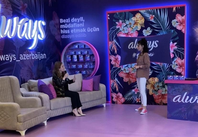 "Khazar psychologist at ""WOMEN FEST"" festival"