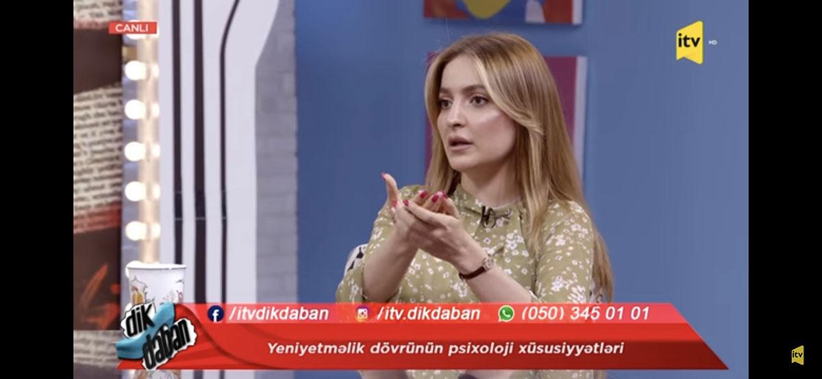 Khazar's faculty member on Public TV