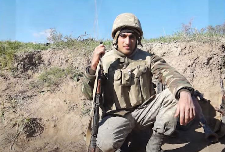 """Video about martyred graduate of """"Khazar"""" University on Youtube"""