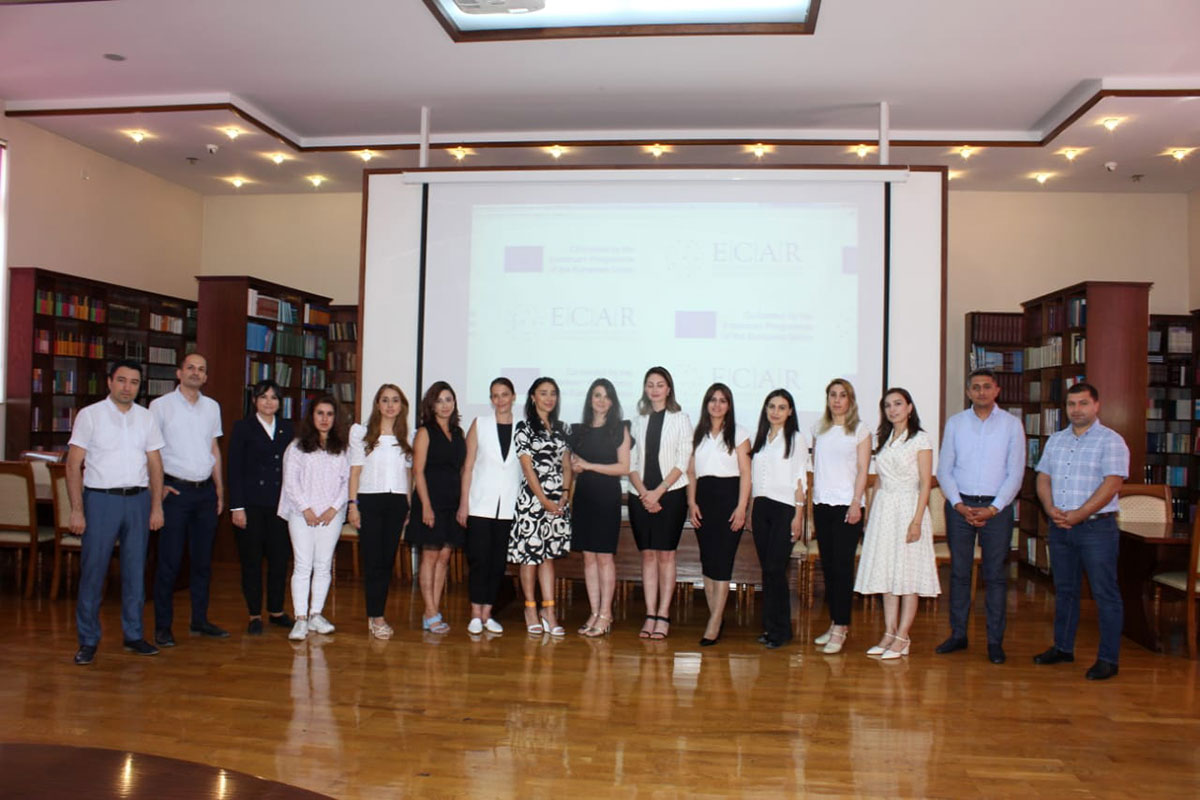 Meeting of Erasmus+ ECAR project managers