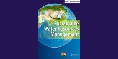 Departament müdirinin məqaləsi Sustainable Water Resources Management jurnalında