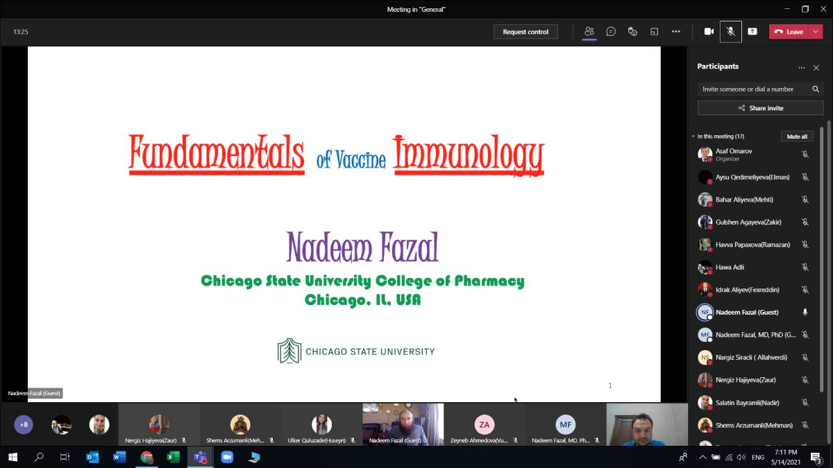 """Professor of Chicago State University holds a seminar for """"Khazar"""" students"""