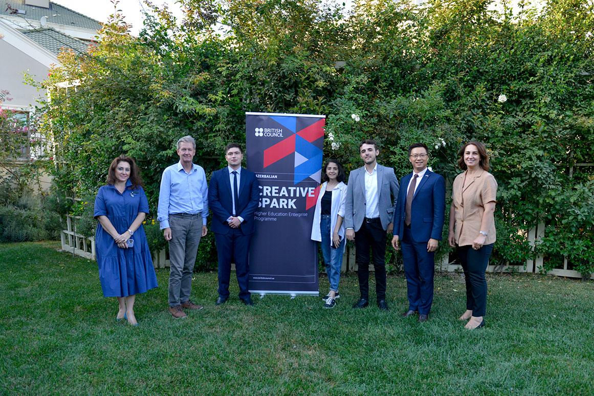 Winners of Creative Spark Big Idea Competition in Azerbaijan Announced