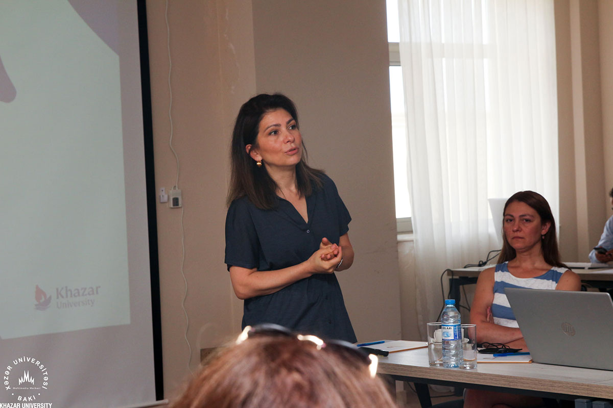 Khazar University Management Meeting on Strategic Issues