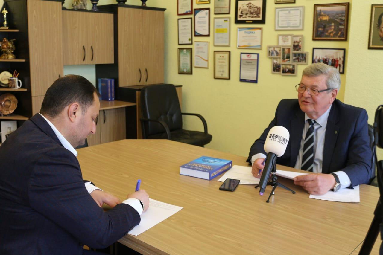 The rector of Kyiv National Economic University speaks about cooperation with Khazar University