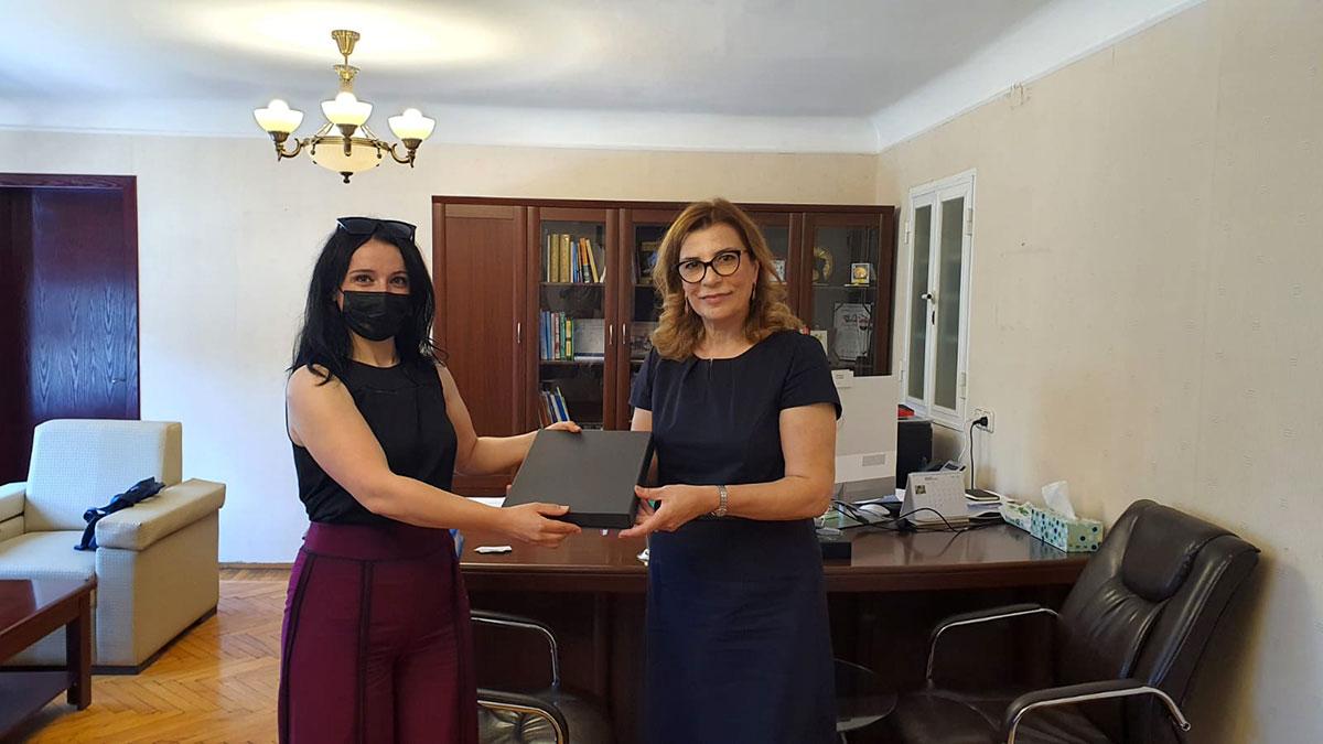 Visit of a group of representatives of Manisa Jalal Bayar University of Turkey to Khazar University