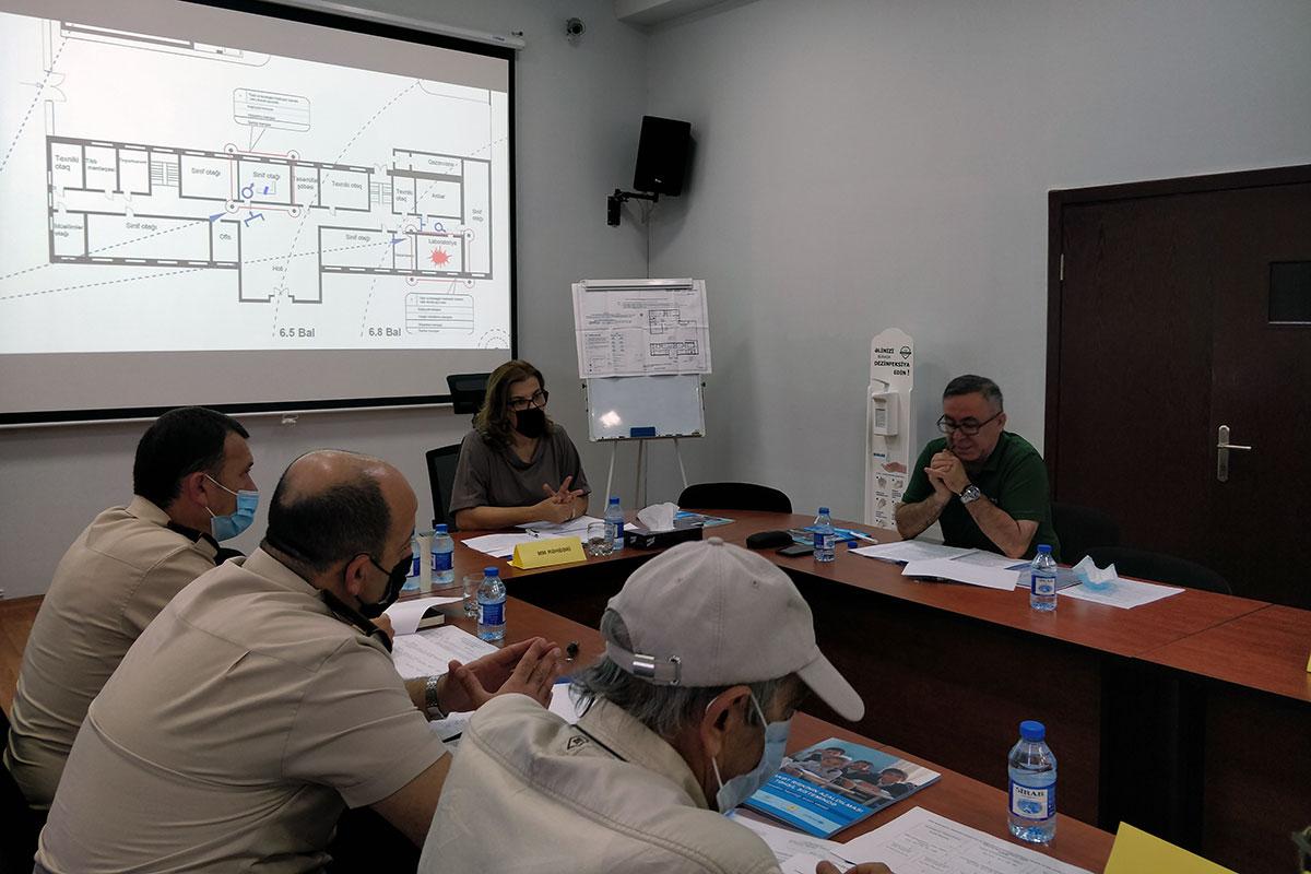 Civil Defense Training of University Administration was Held