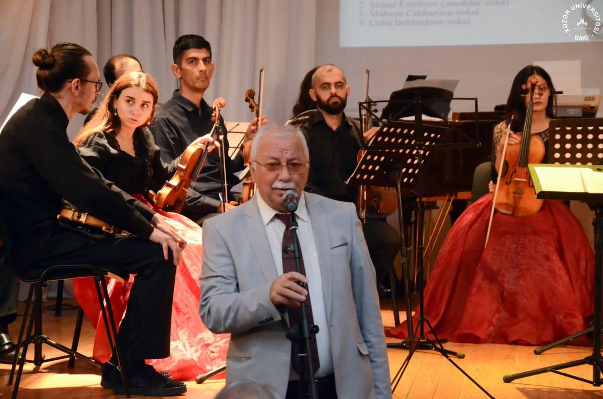 Concert by Khazar University Chamber Orchestra was Held within the 13th Uzeyir Hajibeyli International Music Festival