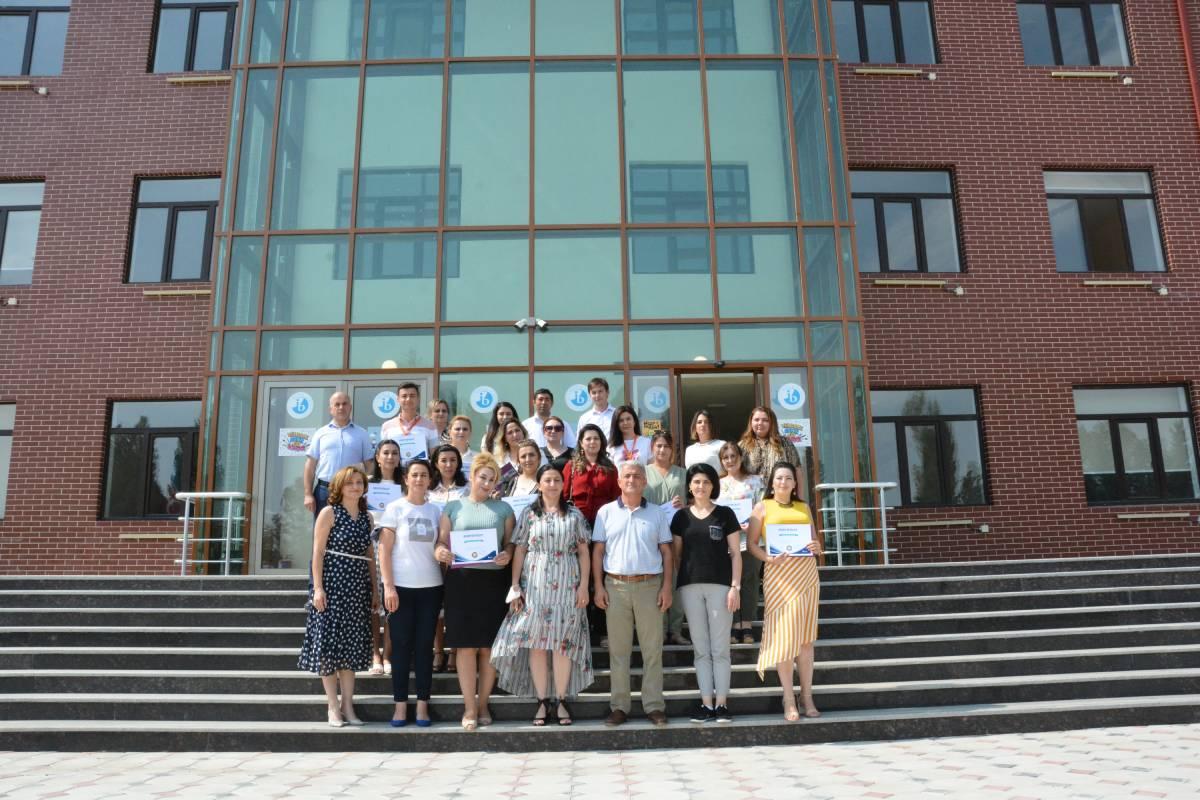 "Training at Ganja ""Dunya"" School within Framework of ""Potential School Principals"" Project"