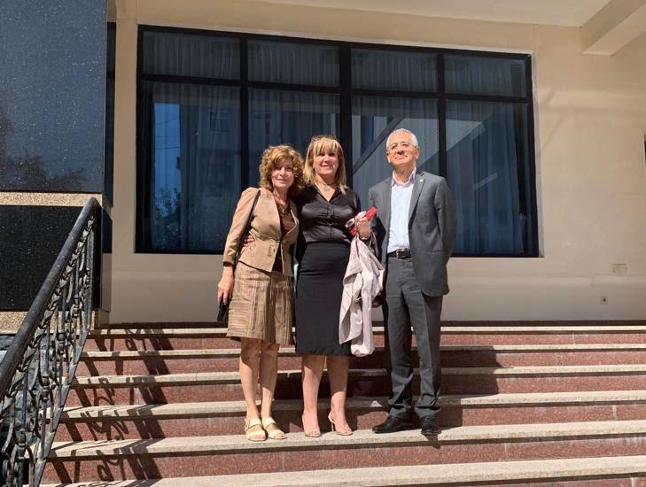 Professor Hamlet Isakhanli Met with Algerian Ambassador Salima Abdelhak